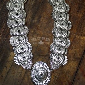 Large Concho Necklace